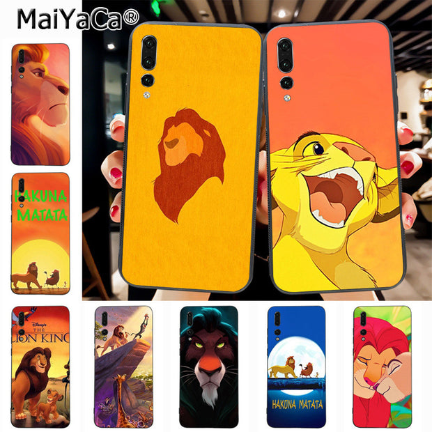 Maiyaca The Lion King On Sale! Luxury Cool Phone Case For Huawei P20 P20 Pro Mate10 P10 Plus Honor9 Cass