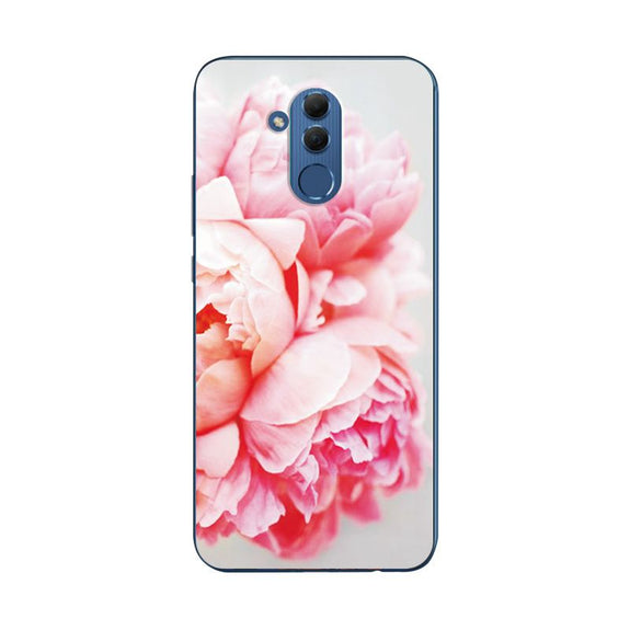 Mate 20 Lite Novelty Rose Painted Phone Case For Huawei Mate 20 Lite Silicone Cover Bags For Huawei Mate 20 Lite Coque Fundas In Many Styles Cellphones & Telecommunications Fitted Cases