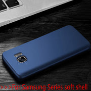 Matte Solid Color Soft Cover For Samsung Galaxy J3 5 7 S6 7 8 9 C5 9 Pro TPU Silicone Soft Shell For Samsung J2 5 7prime A3 5 7