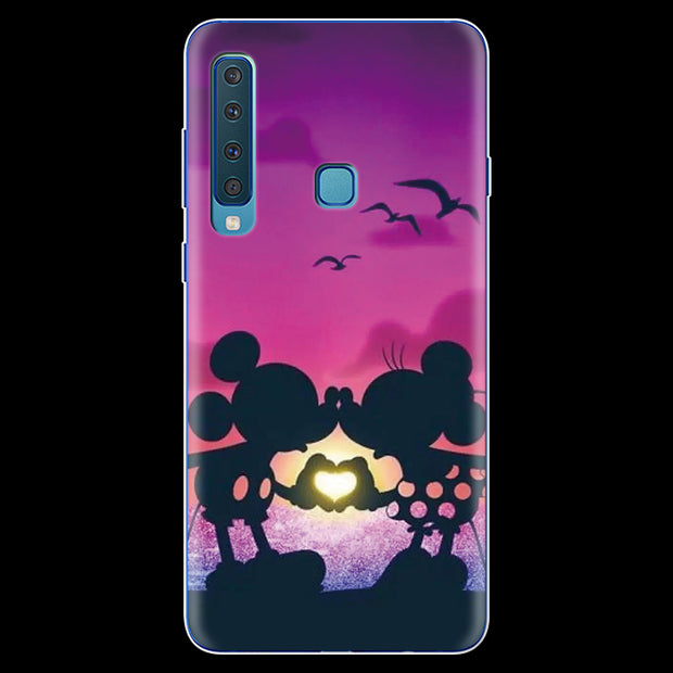 Minnie Mickey For Samsung Galaxy A9 2018 Case Silicon Fundas For Coque Samsung A9 2018 A920F A920 TPU Back Cover Soft Phone Case