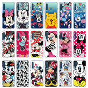 "Minnie Mickey Pooh Case For Samsung Galaxy A9 2018 Case 6.3"" Fundas Back For Cover Samsung A92018 Soft TPU Cases Coque Bags Capa"