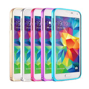 Mobile Bumper Metal Back Cover For Samsung Galaxy J5 2015 J7 2015 Phone Metal Frame Case
