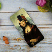 Mona Lisa Funny Spoof Fashion Transparent Case For Samsung Galaxy A3 A5 A9 A7 A6 A8 Plus 2018 2017 2016 Star A6S Note 9 8 Cover
