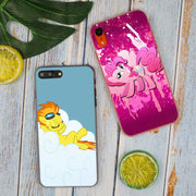My Little Pony Rainbow Dash Clouds Hot Fashion Transparent Hard Phone Cover Case For IPhone X XS Max XR 8 7 6 6s Plus 5 SE 5C 4