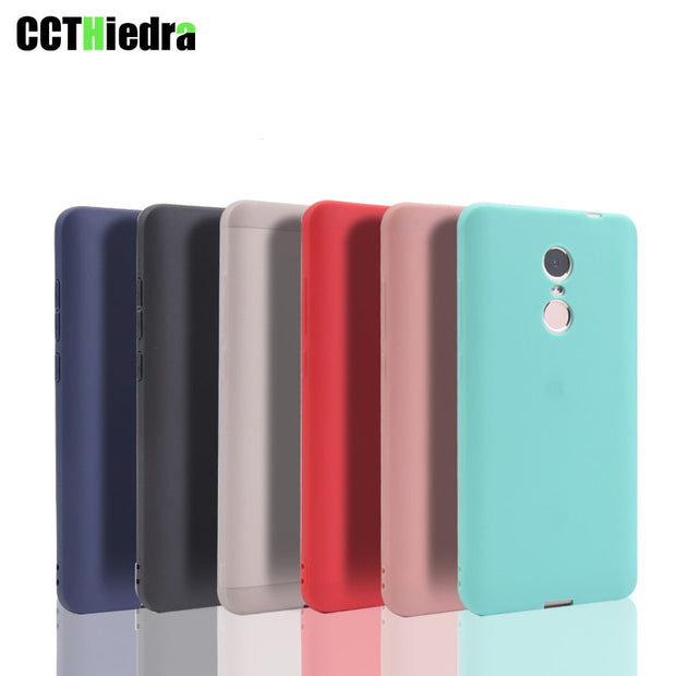 New Candy Color Silicone Case Cover For Xiaomi Redmi Note 4 5 4X 5A S2 4A 5 5plus MAX 2 Mi 8 SE Most Phone Cases Matte Shell