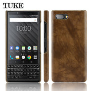 New Case Luxury Slim Hard Plastic Phone Case For Blackberry Key2 Case Cover Protection