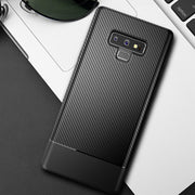 Note9 Business Black Luxury Carbon Fiber For Samsung Galaxy Note 9 Case Hybrid Armor Coque For Samsung Galaxy Note 9 Case Cover