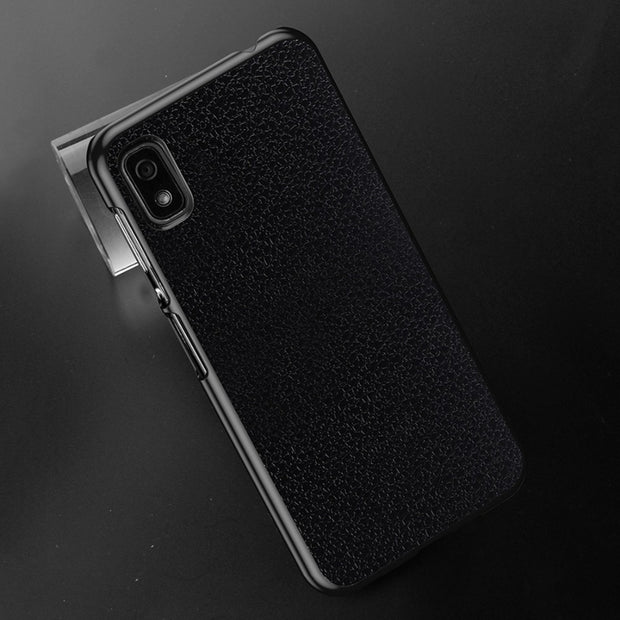 OCUBE For Elephone A4 A4 Pro PC Protective Back Case For A4 A4 Pro Phone Lichi Texture Back Cover