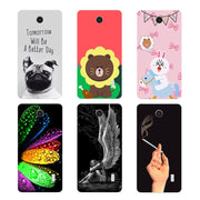 Original Cover For Huawei Ascend Y635 Fashion Print Lovely Bear Soft TPU Silicone Phone Cover Coque For Huawei Ascend Y635