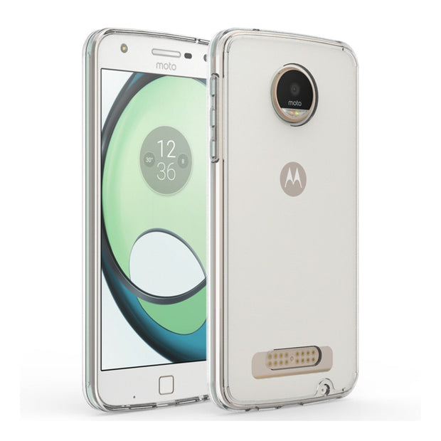 Original Hybrid Crystal Clear Back Cover Shockproof Air Cushion Case Protection Fundas Coque For Motorola Moto Z Play 5.5inch
