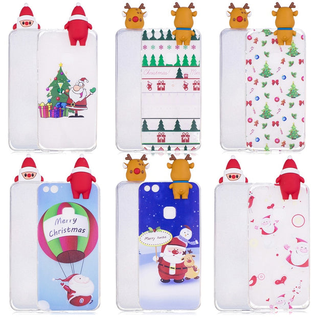 P20 Lite Case On For Huawei P20 Lite Cover 3D Cartoon Toys Soft Silicone Phone Case For Huawei P20 Pro P10 P9 P8 Lite 2017 Coque