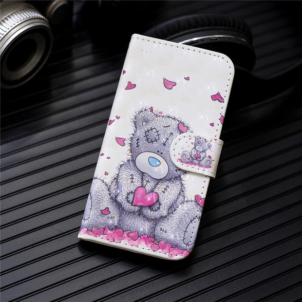 PU Leather Cases SFor Samsung Galaxy S7 Edge Note 8 9 S8 S9 A3 A5 A8 J2 J3 J4 J5 J6 J7 PLUS PRO 2016 2017 2018 Flip Phone Cover