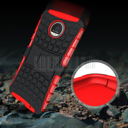 Phone Case For Motorola Moto Z Droid XT1650 Anti-shock Hybrid Heavy Duty Armor Rugged Protective Kickstand Cover Skin