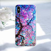 Phone Case For IPhone X TPU Transparent Back Cover Cases For IPhone 7 7 Plus 5S SE X 8 Plus 6S Plus Print TPU Soft Cases Cover