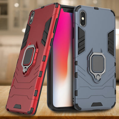 Phone Case For IPhone XS Max Case Magnetic Ring Armor Cover For IPhone 7 8 6 6S Plus Case For IPhone XR X XS 8Plus Funda Coque