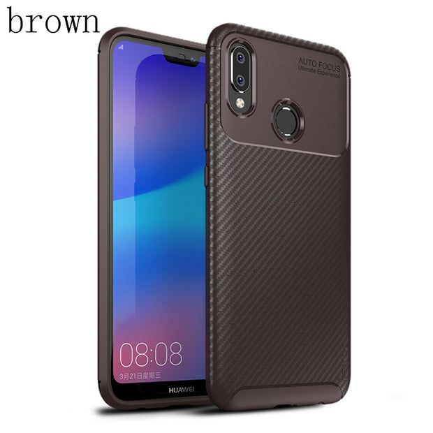 Phone Case Shockproof Silicon TPU Cover On For Huawei P20 Lite Pro P 20 P20Lite P20Pro 4/6 64/128/256 GB Protective Bumper