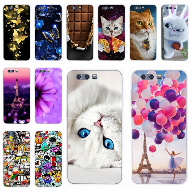Phone Case For Huawei Honor 9 Honor 9 Lite Back Cover Painted Shell For Honor 9 Lite Honor9 Lite Fundas