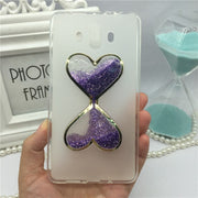 Phone Case For Huawei Mate 10 Bling Glitter Liquid Quicksand Cases For Huawei Mate 10 Cover Capa Wine Glass Hourglass