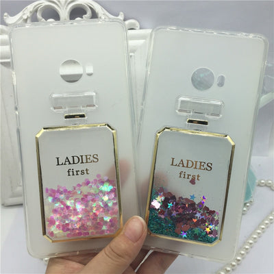 Phone Case For Xiaomi Mi Note 2 / Note2 Original Red Wine Cover Perfume Glass Cases Bling Lady Soft Silicon Para Sheel