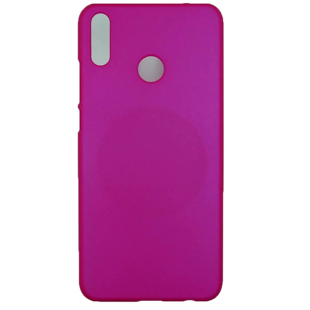 Phone Case On For Fundas Huawei Honor 8X Case For Coque Huawei Honor 8X Case Candy Color Hard Plastic PC Cover Phone Cases