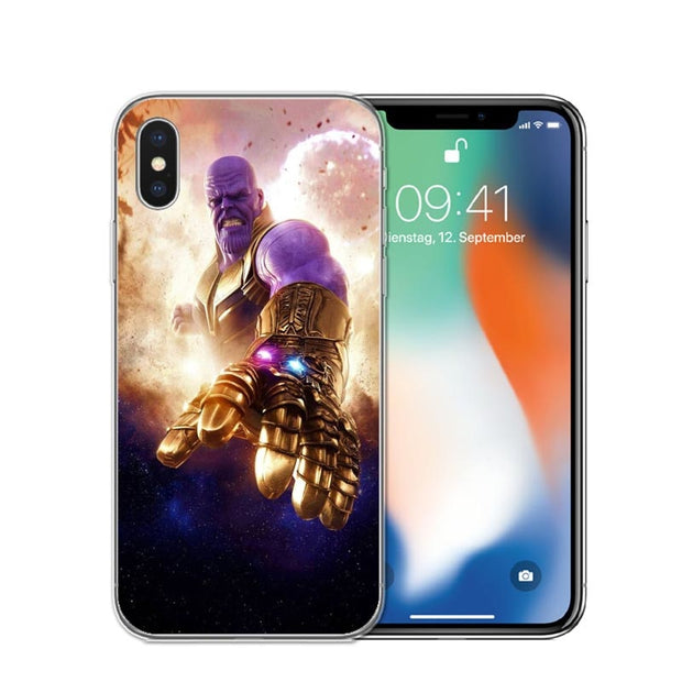 coque iphone 7 thanos