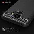 Phone Case For Samsung Galaxy A6 Anti-knock Carbon Fiber Phone Case TPU Soft Case For Galaxy A6 Case
