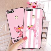 "Pink Leopard Cases For Huawei Honor 7C AUM-L41 Russian Version Luxury Fashion Phone Case For Huawei Honor 7C 5.7"" Back Cover"