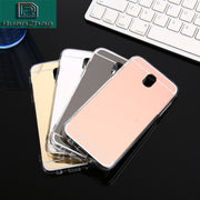 Plating Mirror Case Soft Full TPU Back Cover For Samsung Galaxy A3 A5 A7 2016 J3 J5 J7 2017 S6 S7 Edge S8 S9 Plus Case Coque