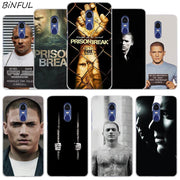 Prison Break Clear Cover Case For Xiaomi Redmi 3 3S 6 Pro S2 4A 4X 5A 6A 5 Plus Note 5A Note 2 3 4 4X 5 6 Pro Mi 5X A1