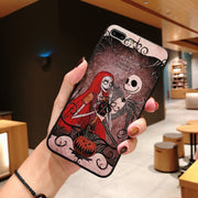 Pumpkin Halloween Relief Case For IPhone XS MAX XR Iphone 7 8 6 6s Plus Zombie Silicone Coque Cover For Iphone 6s 6 X 10 Capinha