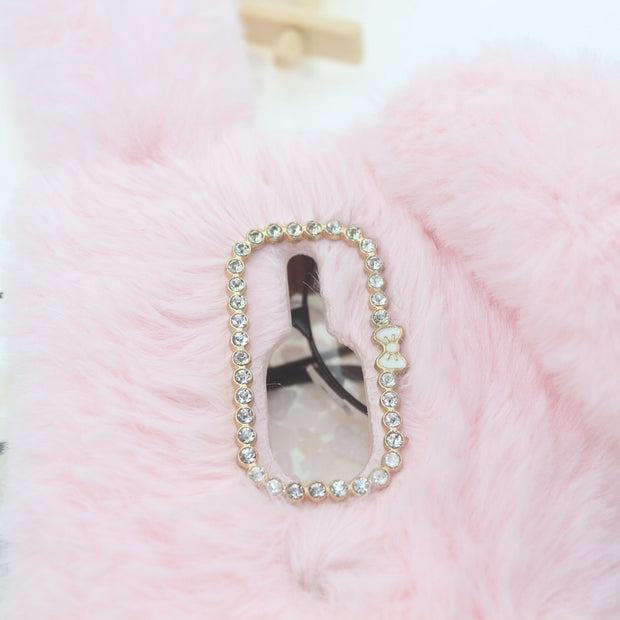 Rabbit Fur Cases For Sony Sony XA2 Plus XA1 XA3 Ultra XZ2 Compact XA X L2 XZ3 XZ Premium XZ1 C6 E5 L1 G3313 XP X Performance XR
