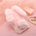Rabbit Fur Cases For Vivo X7 X6 Plus X Play 6 5 V3 Max Y53 X5 Pro X5L X3L Y55 Y53 Y51 Silicone Covers Diamond Warm Housings