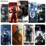 Rainbow Six Siege Operation Cover Case For Xiaomi Redmi 3 3S 6 Pro S2 4A 4X 5A 6A 5 Plus Note 5A Note 2 3 4 4X 5 6 Pro Mi 5X