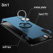 Ring Adsorption For Xiomi Redmi 4A Case 3S 3X 3 Pro Cover With Finger Ring Holder For Xiaomi Redmi Pro Cases Flip Silicone Caque