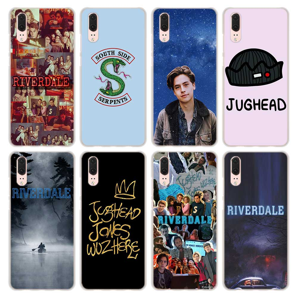 Riverdale Pattern Transparent Hard Phone Cover Fundas Coque For ...