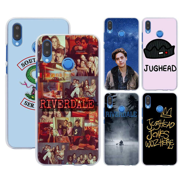 new concept 2059f 63148 Riverdale Pattern Transparent Hard Phone Cover Fundas Coque For ...