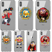 SML JEFFY HOPS Soft Silicone TPU Phone Cases For IPhone 5 5s SE 6 6SPlus 7 7Plus 8 8 Plus X XR XS MAX XS 5.8 6.1 6.5 Inch Cover