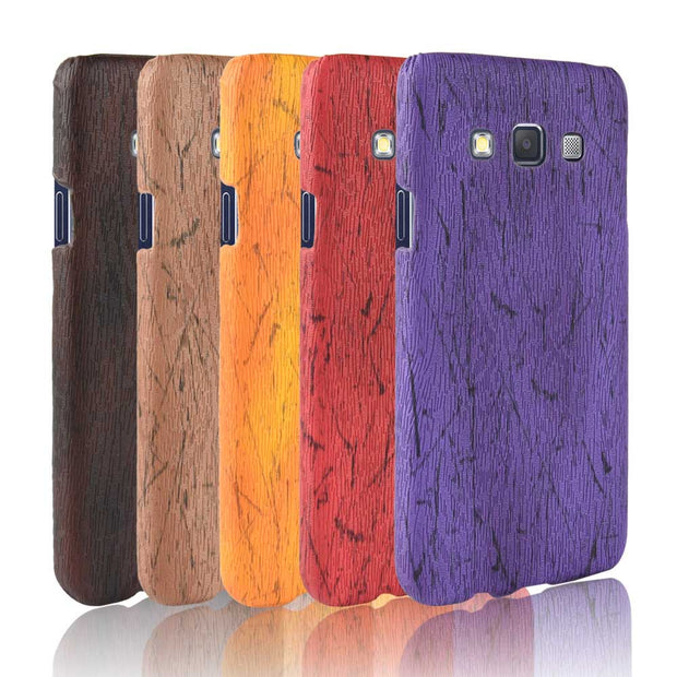 "SUBIN New Phone Case For Samsung Galaxy A5 2015 A5000 5.0"" Fundas Retro Wood Grain Mobile Phone Back Cover Phone Protective Case"