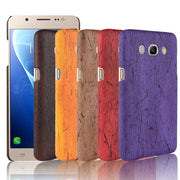 "SUBIN Phone Case For Samsung GALAXY J7(2016) J7108 J710 5.5"" Retro Wood Grain Mobile Phone Back Cover Phone Protective Case"