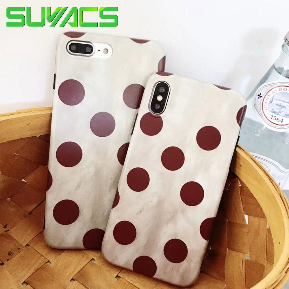 coque iphone 6 dots