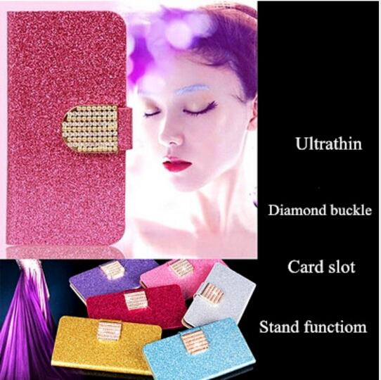 Shiny Wallet Case For ASUS Zenfone Live L1 ZA550KL PU Leather Classic Book Flip Cover Magnetic Fashion Phone Cases For Zenfone