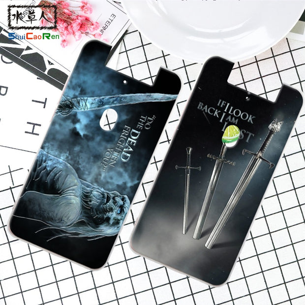 ShuiCaoRen Silicone Case For OPPO N1mini N5117 Retra Game Of Thrones Cover Phone Coque Ice And Fire Fundas For OPPO N3 N5207