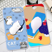 ShuiCaoRen Silicone Cases For HTC One A9 Case A9W / A9 Aero 3D Squishy Finger Pinch Cat Skin For HTC A9 Cover