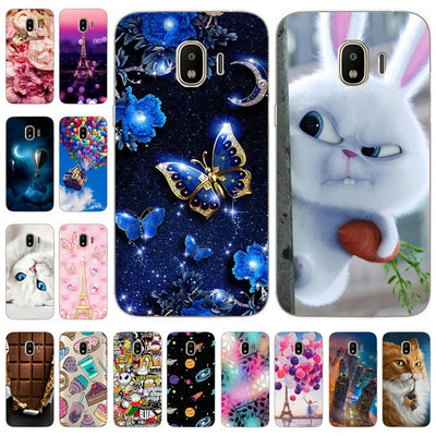 Silicone Case For Samsung Galaxy J2 2018 J2 Pro 2018 J250F Printing Cute Soft Coque For Samsung J 2 Pro 2018 J250F Fundas Bumper