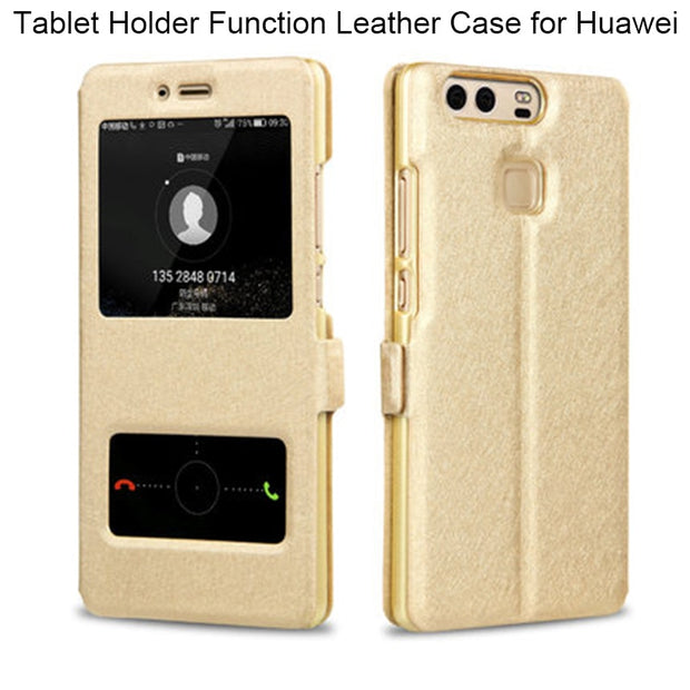 Silk Texture Leather Case For Huawei P20 Lite P10 Plus P7 Mate 7 8 9 10 Pro Case On Huawei P8 Lite 2017 Case For P9 Lite 2017