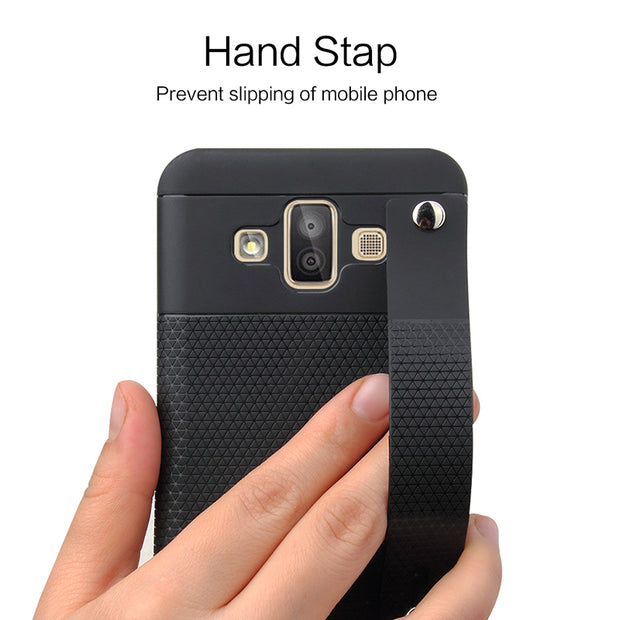 Slim Stand TPU Case For Samsung Galaxy J7 Duo J720F Phone Case Soft Silicon Protective Back Cover For Samsung J7 2018 Coques