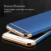 Soaptree Phone Case Cover For OPPO R9S Cases For OPPO R9S Covers Plating Hard PC Fundas Shell Housing Hood Back Bags