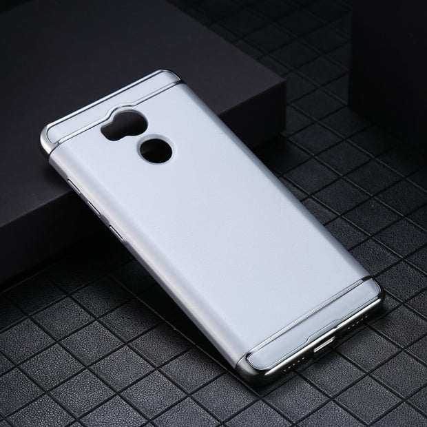 Soaptree Phone Case For Xiaomi Redmi 4 Pro Redmi 4 Prime 3GB 32GB ROM Redmi 4S Prime Covers Plating Hard PC Plastic Cases