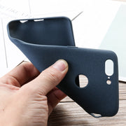 Soaptree Silicon Premium Case For OnePlus 5T Case Full Cover For One Plus 5t OP5T 6.01 Inch Back Cover Matte Coque Funda Shell