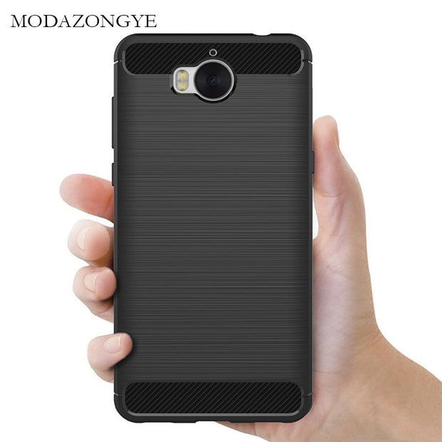 newest 1f0ba ec768 Soft Case For Huawei Y5 Y 5 2017 Case Huawei MYA-L22 Case Silicone Back  Cover Phone Case For Huawei Y6 2017 MYA-L41 MYA-L11